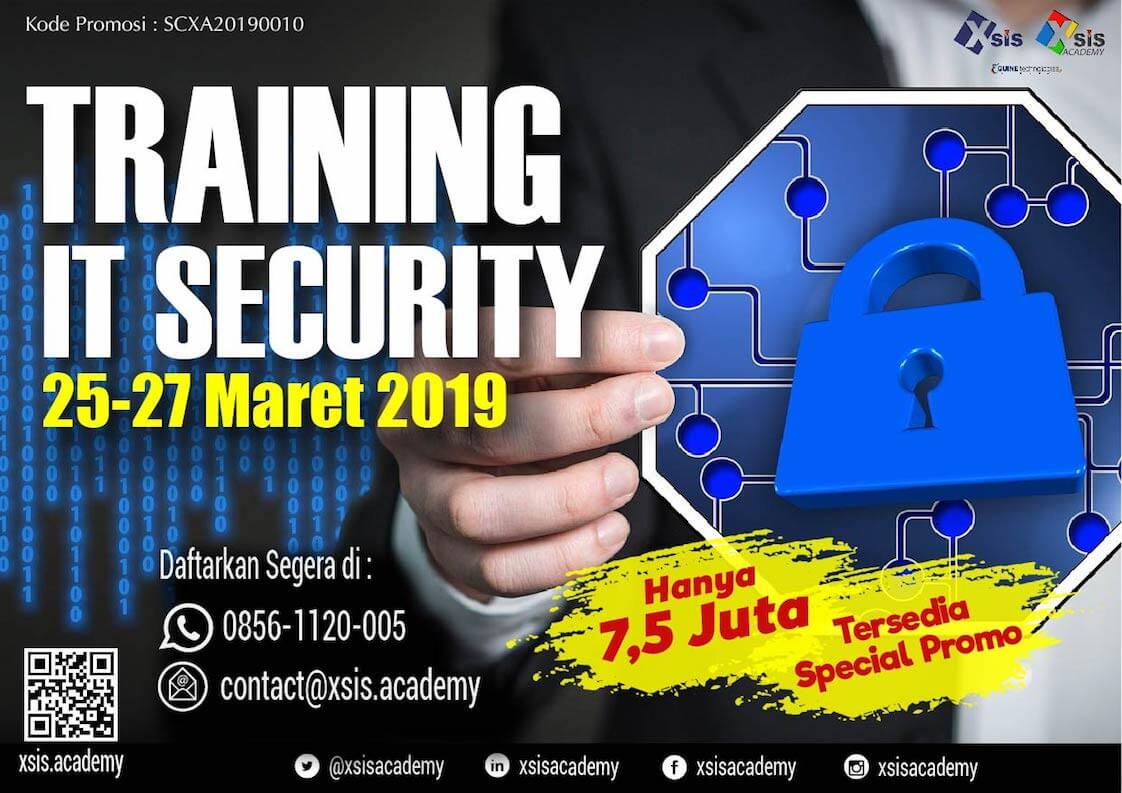IT Security Training - image Training-IT-Security-di-XSIS-Academy on http://xsis.academy